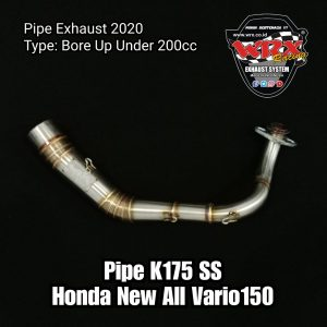 Pipe K175 SS Honda All New Vario150