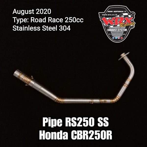 New Pipe RS250 SS Honda CBR250R