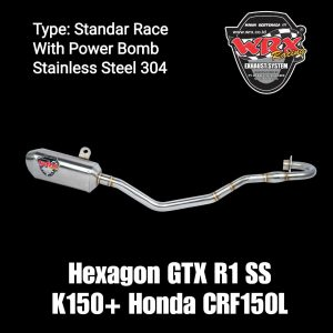 Hexagon GTX R1 SS K150+ Honda CRF150L